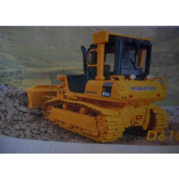 Komatsu D61EX Bulldozer with Metal Tracks Scale Models Die Cast Licenced