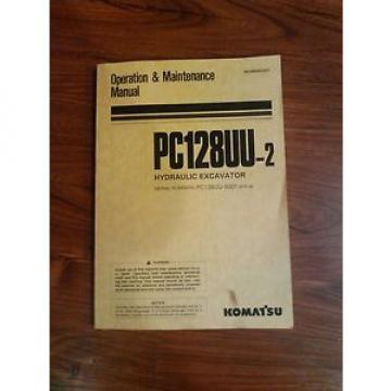 Komatsu PC 128uu-2 operators manual