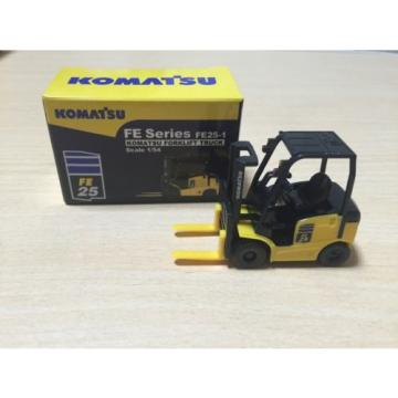 1/54 Komatsu FE Series FE25-1 Forklift Truck Pull-Back Car not sold in stores