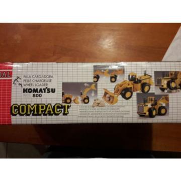 VINTAGE NEW NIB JOAL COMPACT DIECAST KOMATSU WA 800 WHEEL LOADER