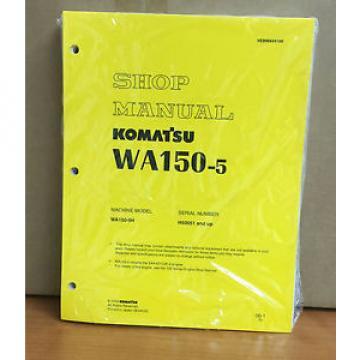 Komatsu WA150-5 Wheel Loader Shop Service Repair Manual