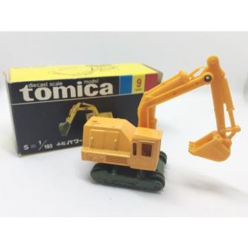 TOMICA 9-2 KOMATSU POWER SHOVEL 15-HT