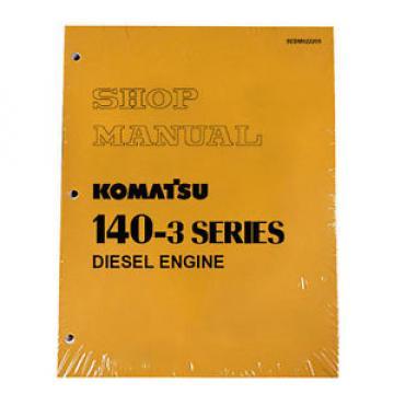 Komatsu 140-3 Series Diesel Engine Service Workshop Printed Manual