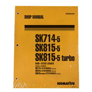 Komatsu SK714-5, SK815-5 & Turbo Service Shop Manual