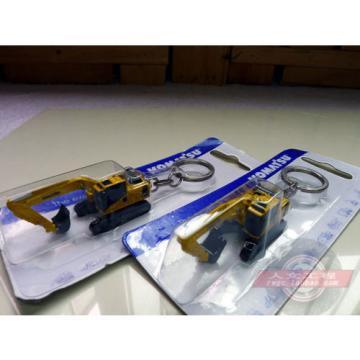Authentic metal Keyring truck Komatsu excavator model  1-128