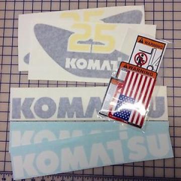 ANY Komatsu Forklift FULL Decal/Sticker Kit
