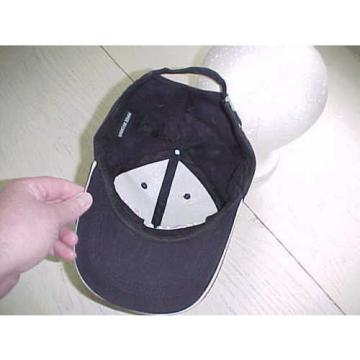 Komatsu Cloth Hat Black White Baseball Stitched Cap Heavy Equipment