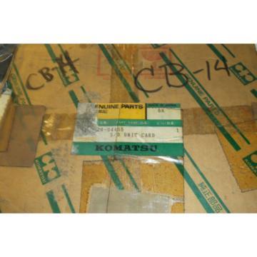 KOMATSU S/D UNIT CARD 919-20-04465 CB-14 NEW OLD STOCK