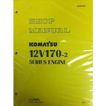 Komatsu 12V170-2  Series Engine Factory Shop Service Repair Manual