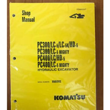 Komatsu Service PC300LC-5, PC400-LC-5, PC300LC-5 Manual Shop