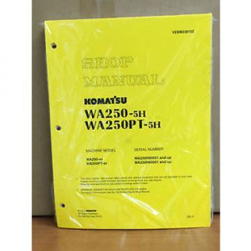 Komatsu WA250-5H, WA250PT-5H Wheel Loader Shop Service Repair Manual