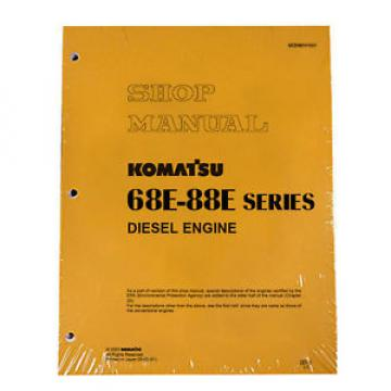 Komatsu Engine 68E, 74E, 82E, 84E Service Shop Manual