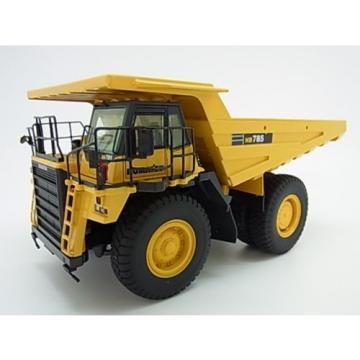 New! Komatsu 785-7 yellow dump truck diecast model 1/50 NZG f/s from Japan