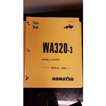 PARTS MANUAL FOR WA320-3LE SERIAL A30000 KOMATSU WHEEL LOADER