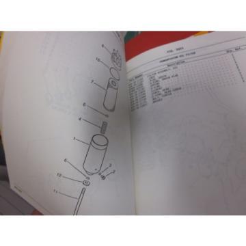 Komatsu WA380-1LC Wheel Loader Parts Book Manual s/n 45001 Up