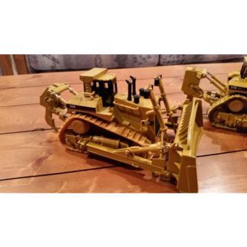 Lot of 4 Komatsu & Caterpillar 1/50 Scale Mining Push Dozers *NEW*