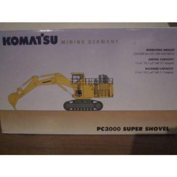 Komatsu Mining Germany PC3000 SUPER SHOVEL model