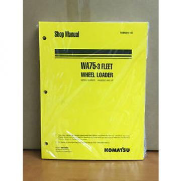 Komatsu WA75-3 Fleet Wheel Loader Shop Service Repair Manual