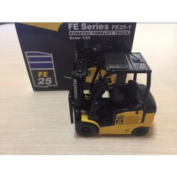 1/24 Komatsu FE Series FE25-1 Forklift Truck Pull-Back Car not sold in stores