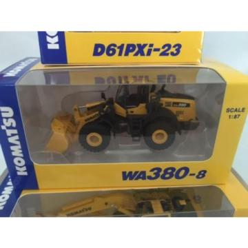 Komatsu Official 1/87 PC210LCi-10 Excavator, D61PXi-23 ,WA380-8 Shareholder LTD