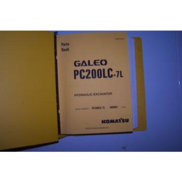 Komatsu PC200LC-7L Parts Manual
