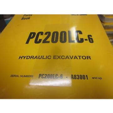 Komatsu PC200LC-6 Hydraulic Excavator Parts Book Manual