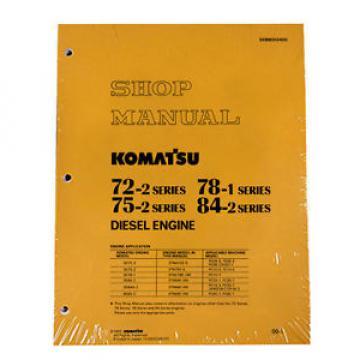 Komatsu Engine 72-2, 75-2, 78-1, 84-2 Service Manual