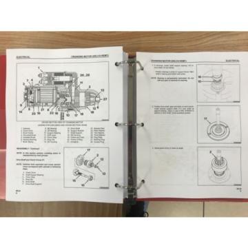 Komatsu TD7H, TD8H, TD9H Crawler Tractor Service Shop Repair Manual Priority