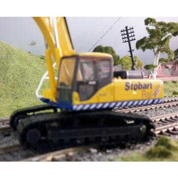 Komatsu Stobart PC340 360 Tracked Excavator Digger 1:76 HO/OO/00 Oxford Model
