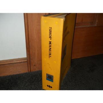 Komatsu PC200 PC220 shop manual 1982