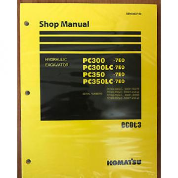Komatsu PC300-7E0 PC300LC-7E0 PC350-7E0 PC350LC-7E0 Service Repair  Manual