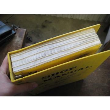 OEM KOMATSU PC300/LC-5 PC400/LC-5 Excavator SERVICE SHOP REPAIR Manual Book