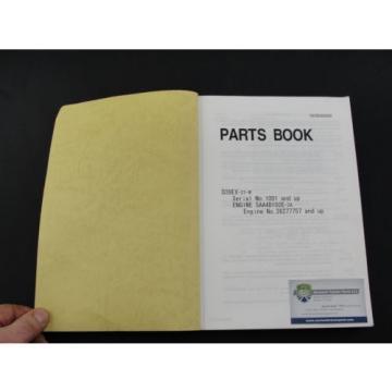 Komatsu D39EX-21 bulldozer parts book manual PEPB080600