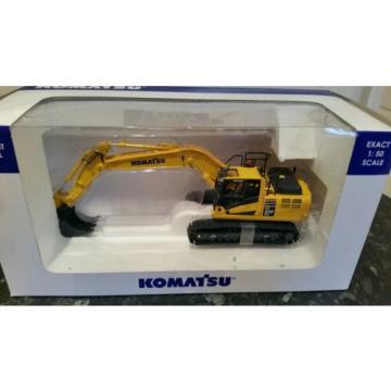 KOMATSU PC 210LCI -10 diecast excavator, metal tracks, 1:50, Universal Hobbies