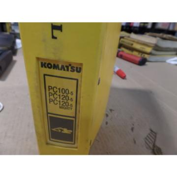 KOMATSU PC100-5 PC120-5 PC120-5 HYDRAULIC EXCAVATOR SHOP MANUAL S/N 28001 & UP,