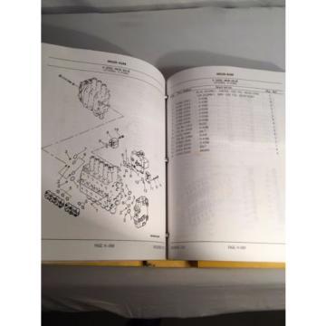 KOMATSU HYDRAULIC EXCAVATOR PARTS BOOK PC300LC-6 PC300H