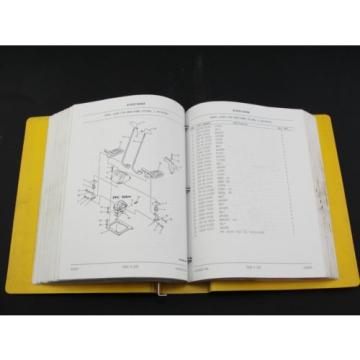 Komatsu PC200LC-6 excavator parts book manual BEPB001700