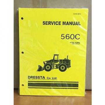 Komatsu Dressta 560C Wheel Loader Shop Service Repair Manual