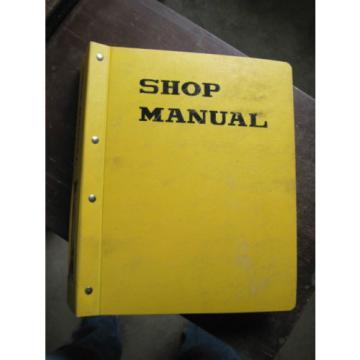 OEM KOMATSU PC300LC-5 PC400LC-5 SERVICE SHOP REPAIR Manual Book