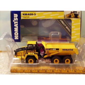 Komatsu HM400-3 Articulated Dump Truck NIB 1/50 First Gear
