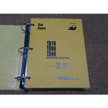 Komatsu TD7H, TD8H, TD9H Crawler Tractor Service Shop Repair Manual