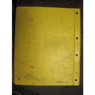 OEM KOMATSU PC120-5 PARTS Catalog Manual Book