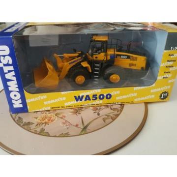 Komatsu wa500 wheel loader die cast model