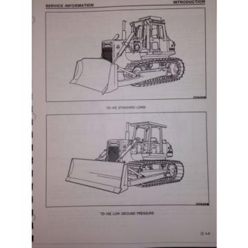 International Dresser Komatsu TD15E Dozer Crawler CHASSIS Shop SERVICE Manual IH