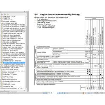 CUMMINS QSK23 / Komatsu 170-3 ENGINE  Shop Rebuild Service Manual WORKSHOP