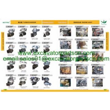 6206-61-1501 6206-63-1602 6206-61-1500 WATER PUMP KOMATSU 6D95L,S6D95L 6 HOSES