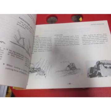 Komatsu D65S-6 Dozer Shovel Operation & Maintenance Manual