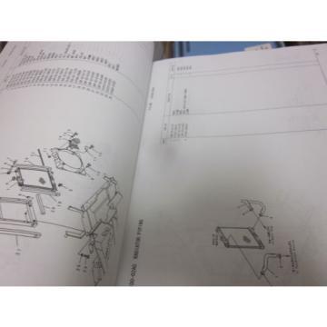 Komatsu PC27R-8 Hydraulic Excavator Parts Book Manual