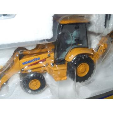 Komatsu WB146 Backhoe/Loader With Work Tools By First Gear 1/50th Scale