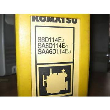 Komatsu S6D114E-1, SA6D114E-1, SAA6D114E-1 SERIES ENGINE Shop Manual